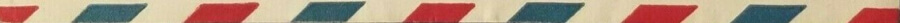 red whit and blue strip of a envelope used to underline a heading